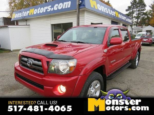 2010 Toyota Tacoma D-Cab Long Bed