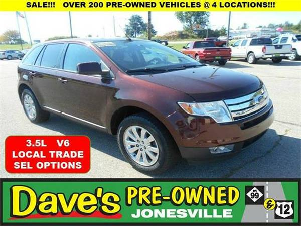 2010 *Ford Edge* SEL 4dr SUV - RED