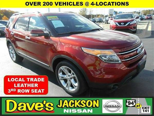 2014 *Ford Explorer* Limited AWD 4dr SUV - RED