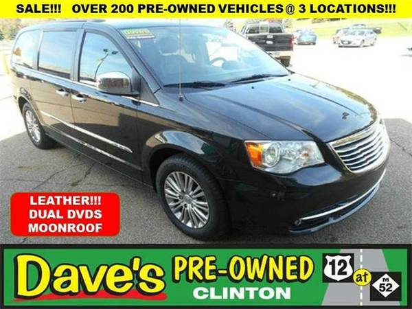 2014 *Chrysler Town and Country* Touring-L 4dr Mini Van - BLACK