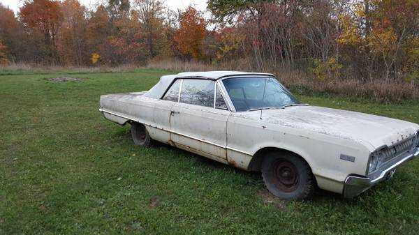 1965 Dodge Polara Convertible ( 1 of only 1200 made in 1965 )