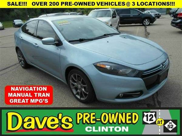 2013 *Dodge Dart* Rallye 4dr Sedan - BLUE