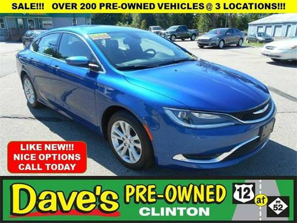 2015 *Chrysler 200* Limited 4dr Sedan - BLUE