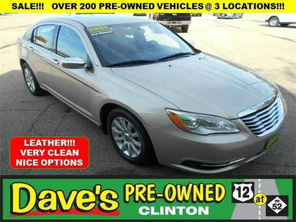 2013 *Chrysler 200* Limited 4dr Sedan - GOLD