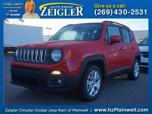 2016 Jeep Renegade Latitude SUV Renegade Jeep