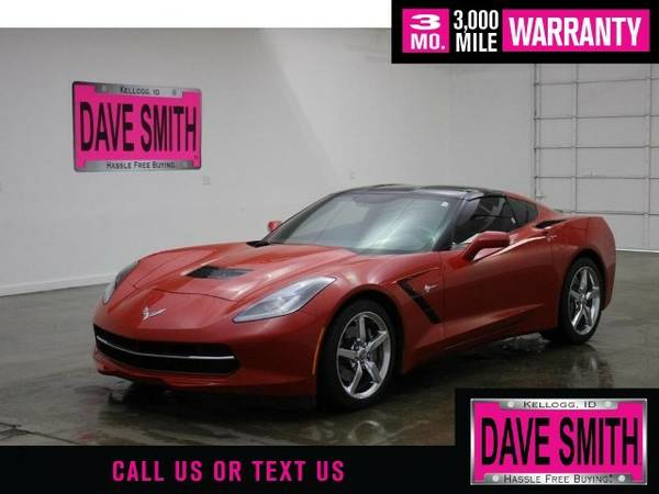 2014 Chevrolet Corvette Stingray 3LT