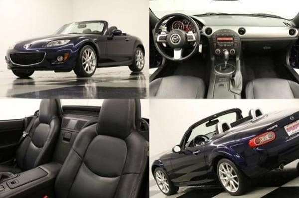 *SPORTY MIATA MX5 - POWER CONVERTIBLE* 2012 Mazda *SLEEK LEATHER - CLE