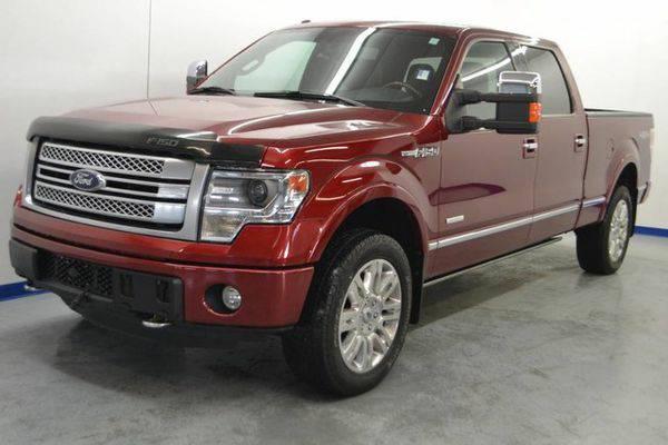Certified 2013 *Ford* *F-150* *F 150* *F150* Platinum 🚙 EZ - F
