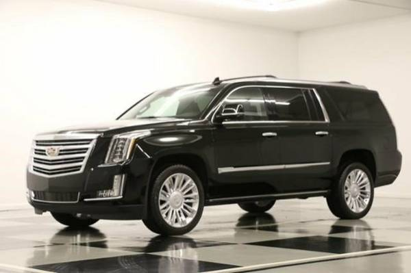 *BLACK on BLACK ESCALADE ESV AWD* 2016 Cadillac *SUNROOF - LEATHER*