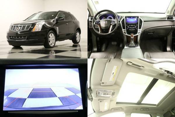 SLEEK Black SRX - HEATED LEATHER* 2013 Cadillac *SUNROOF w GPS NAV*