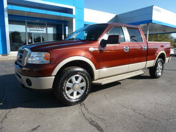 2007 Ford F150 King Ranch SuperCrew Cab...4WD...WARRANTY