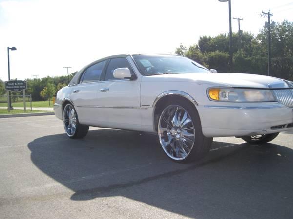 @@@ 2000 Lincoln Town Car New 24 Wheels @@@