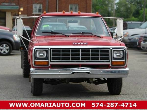 1985 Dodge Pickup D-350 . No Credit? No Problem! As low as $600 down.