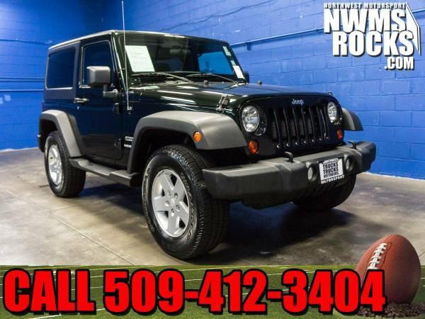 2012 *Jeep Wrangler* Sport 4x4 - CALL TODAY! 2012 Jeep Wrangler Sport