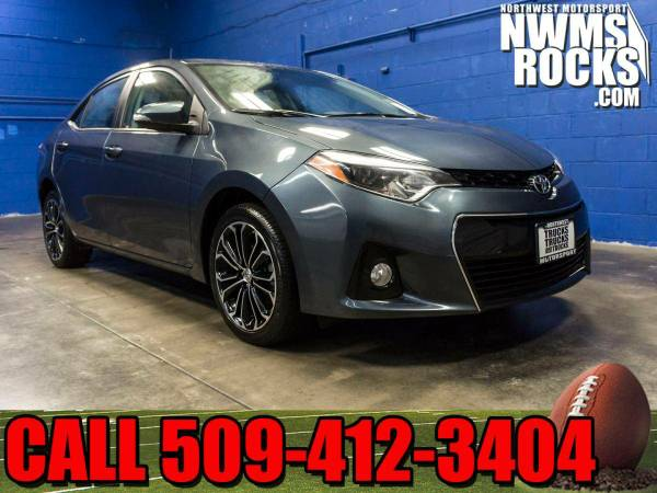 2015 *Toyota Corolla* S FWD - One Previous Owner! 2015 Toyota Corolla