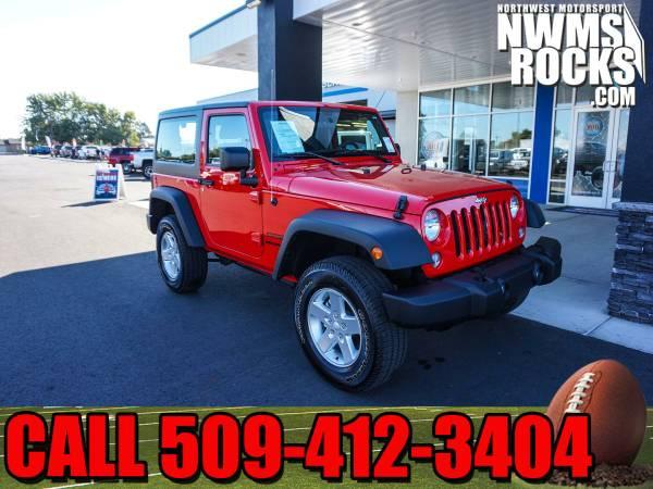 2016 *Jeep Wrangler* Sport 4x4 -