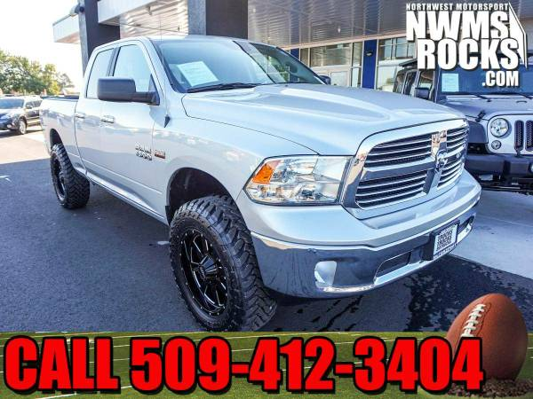 Lifted 2016 *Dodge Ram* 1500 Big Horn 4x4 - Lifted 2016 Dodge Ram 1500