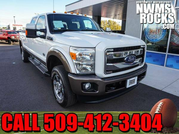 2015 *Ford F350* King Ranch 4x4 -