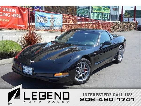 2003 Chevrolet Corvette Z06 Coupe 2D Coupe Corvette Chevrolet