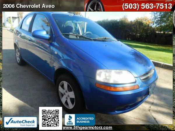 2006 Chevrolet Aveo LS *ONLY 106K MILES!* CALL NOW!