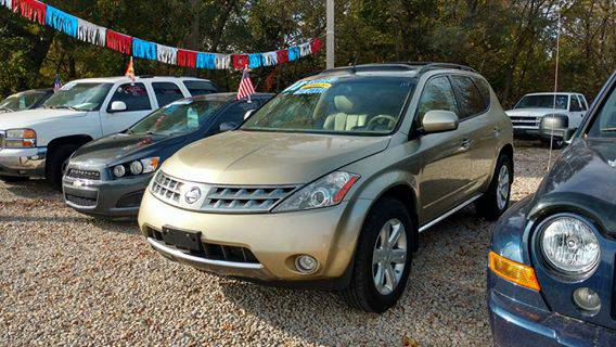 2007 Nissan Murano SL* LOADED* Low Miles * 4x4 * Back Up Camera!