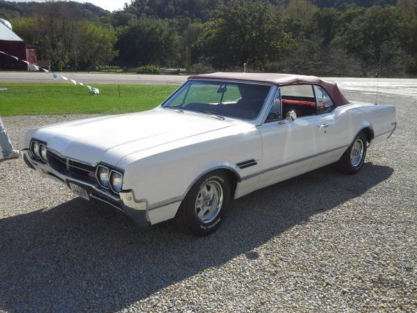 1966 oldsmobile 442 convertable