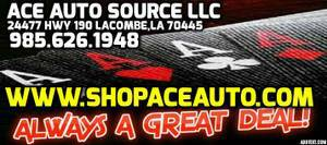 Amazing deals! www.aceautosource.com! Look at our website!