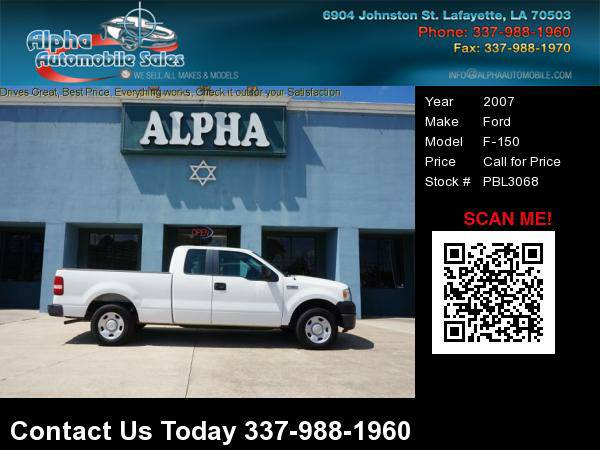 2007 Ford F-150 4 Dr Extended Cab