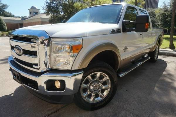 2011 Ford Super Duty F250 F-250 4WD LARIAT Crew Cab SUNR,CAMERA,...