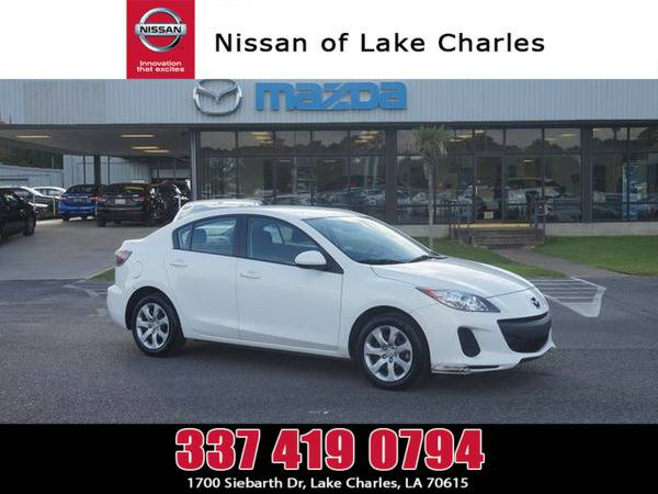 *2013* *Mazda Mazda3* ** *Crystal White Pearl*
