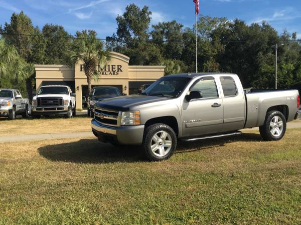 2008 Chevrolet Silverado 1500 Extended Cab 4x4 LT Package
