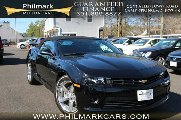 2015 *Chevrolet* *Camaro* 2dr Convertible LT w/1LT Moving Units! $795