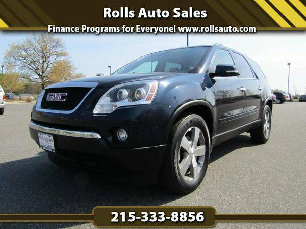 2012 *GMC* *Acadia* SLT-1 AWD From $495 Down! EZ Financing