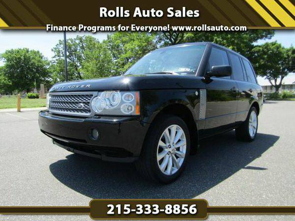 2008 *Land* *Rover* *Range* *Rover* Supercharged From $495 Down! EZ Fi
