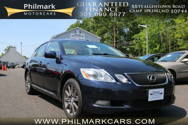 2007 *Lexus* *GS* *350* 4dr Sedan AWD Moving Units! $795 Down, Drive N