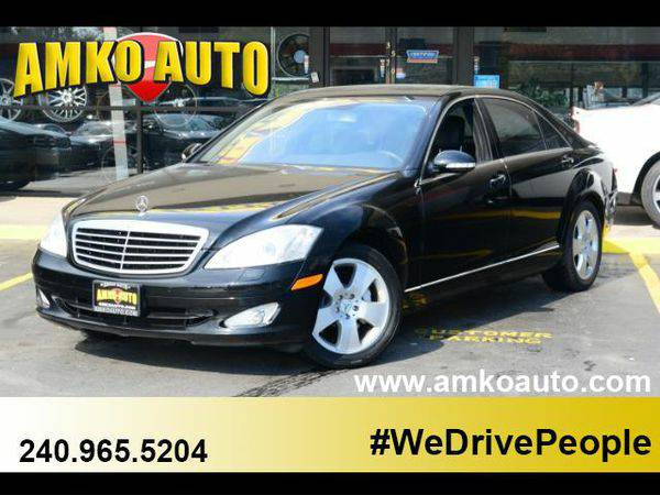 2007 *Mercedes-Benz* *S-Class* S550 4MATIC $1000 Down Payment and a JO
