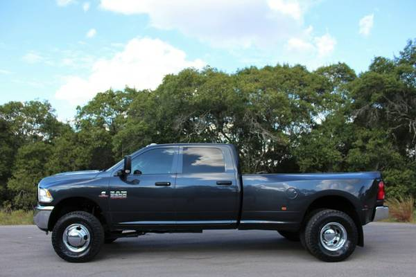 2014 RAM 3500 4X4 6.7L CUMMINS 6SPD DUALLY*ONLY 68K Mi*!CLEAN CARFAX!