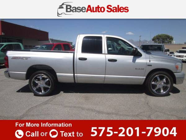 2008 *Dodge* *Ram* *1500* *SXT* *Quad* *Cab* *Long* *Bed* 103k miles