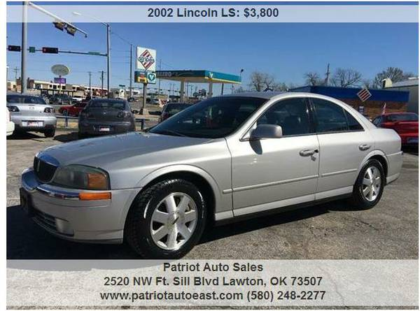 ----- 2002 LINCOLN LS -----