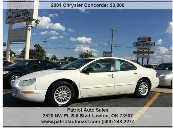 ----- 2001 CHRYSLER CONCORDE LXI -----