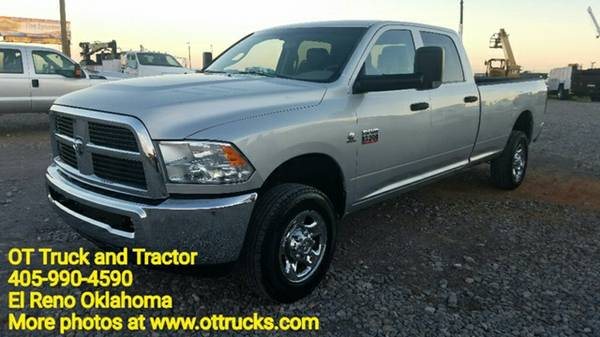 2011 Dodge Ram 2500 4x4 Crew Cab Long Bed Cummins 4wd Diesel