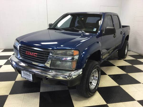 2006 GMC CANYON CREWCAB Z-71 LIFTED! CHROME WHEELS! 3.5L ENGINE!