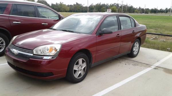 2004 CHEVY MALIBU EARLY BIRD SPECIAL PRICED TO SELL FAST
