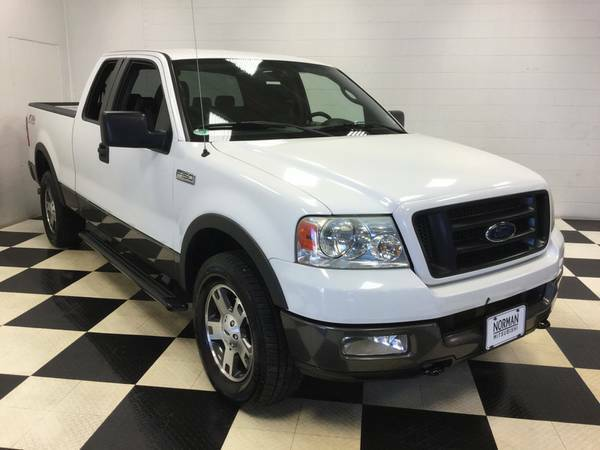 2004 FORD F-150 EXTENDED CAB FX4 OFF ROAD 4X4! 5.4L V8 SUPER LOW MILES
