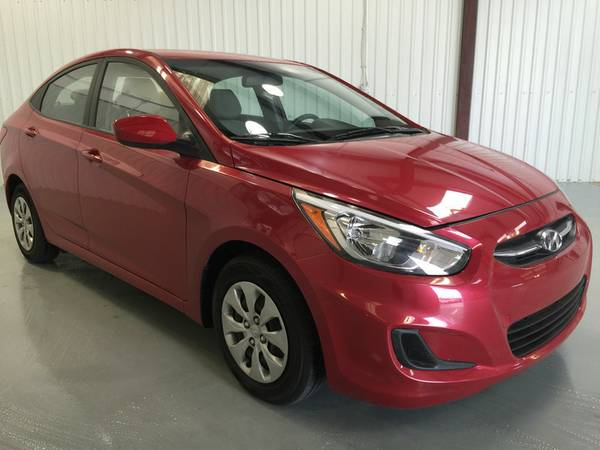 2016 HYUNDAI ACCENT**ONLY 8,600 MILES**FACTORY WARRANTY**MEDIA RADIO**