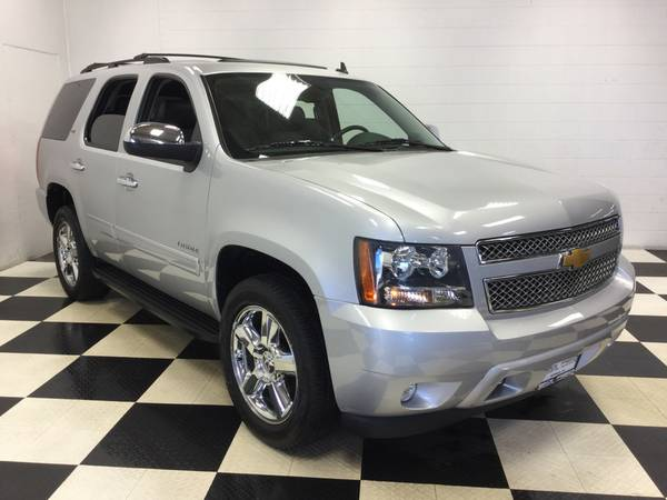 2013 CHEVROLET TAHOE LTZ 4X4! HARD LOADED! NAV! ONLY 27,600 MI! LTHR!