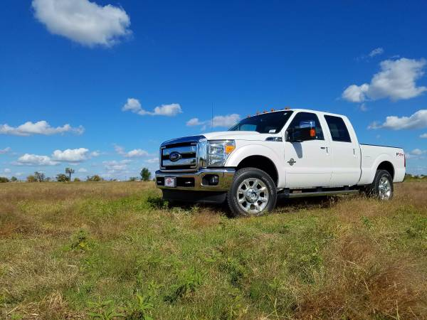 2011 Ford F-250 Super Duty POWER STROKE 4X4 LEATHER LOADED