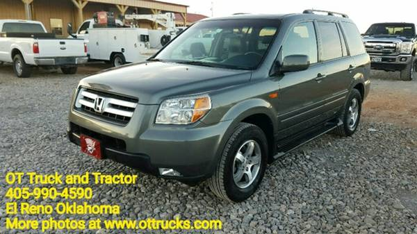 2007 Honda Pilot EX-L SUV Crossover Clean Car
