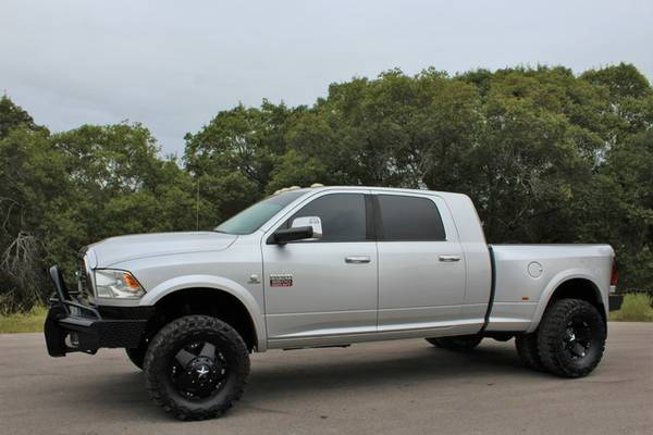 2011 DODGE RAM 3500 LARAMIE MEGA CAB-6SPEED-ONLY 98K MILES-1OWNER-