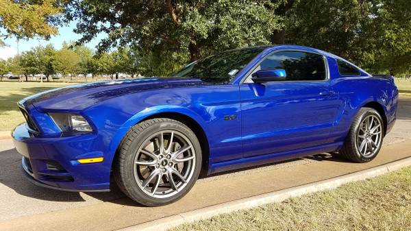 2014 FORD MUSTANG GT TRACK PACKAGE 6 SPD MANUAL LEATHER KEYLESS ENTRY!